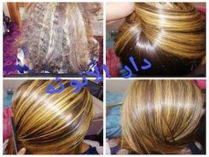 فرد الشعر بالبروتين بالرياض