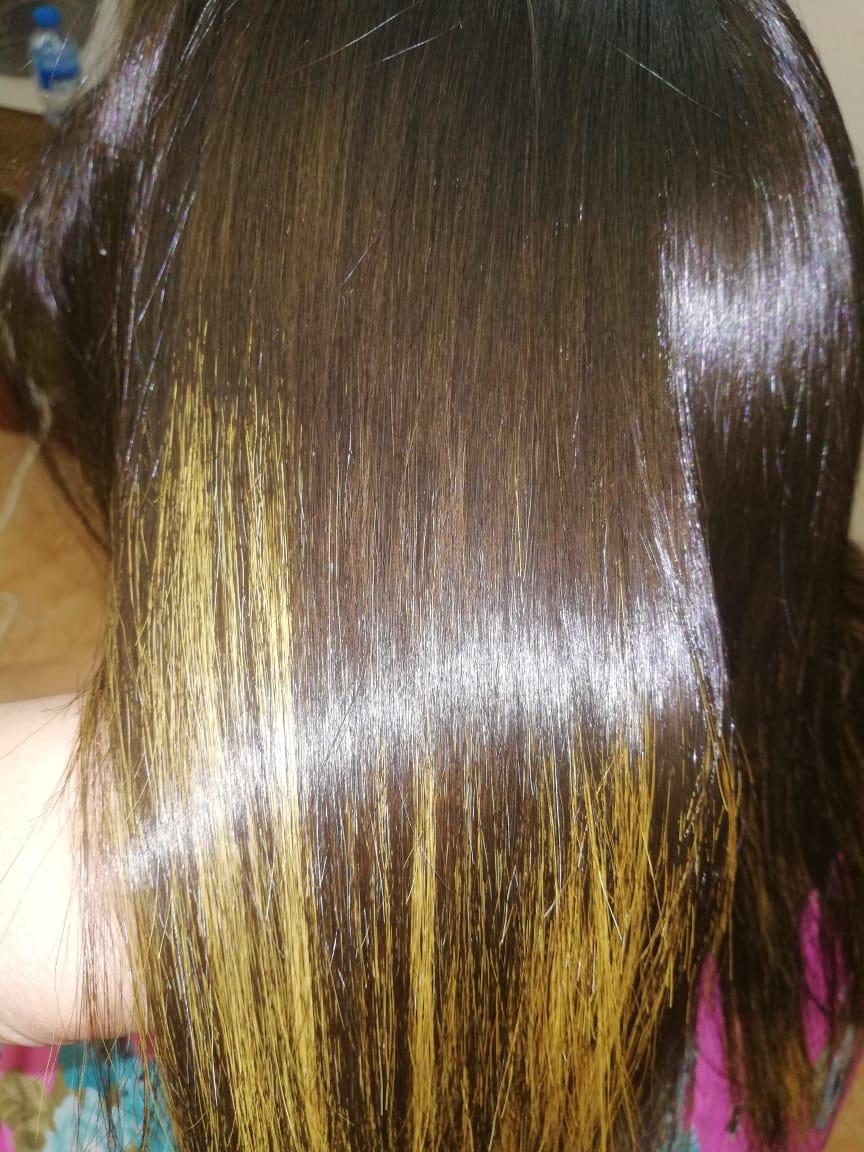 علاج الشعر بالبروتين